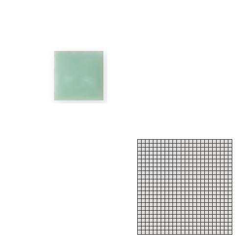 送料無料 TChic SWAN TILE タイル建材 屋内床壁用 インテリアタイル モザイクアート10mm 10角 単色 10-C12