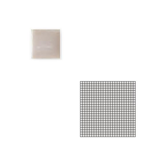 送料無料 TChic SWAN TILE タイル建材 屋内床壁用 インテリアタイル モザイクアート10mm 10角 単色 10-B13