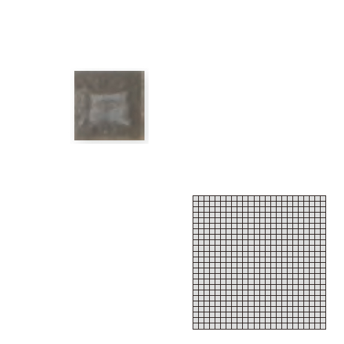 TChic モザイクアート10mm 10角 単色 即納最大半額 期間限定お試し価格 10-D14 送料無料 屋内床壁用 インテリアタイル タイル建材 SWAN TILE