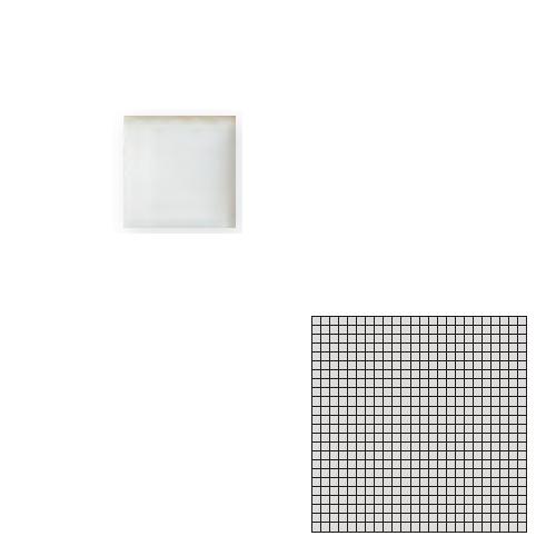 送料無料 TChic SWAN TILE タイル建材 屋内床壁用 インテリアタイル モザイクアート10mm 10角 単色 10-B20