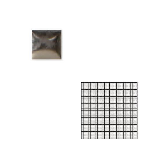 TChic モザイクアート10mm 10角 単色 10-D20 送料無料 ついに再販開始 インテリアタイル 新作続 タイル建材 屋内床壁用 TILE SWAN