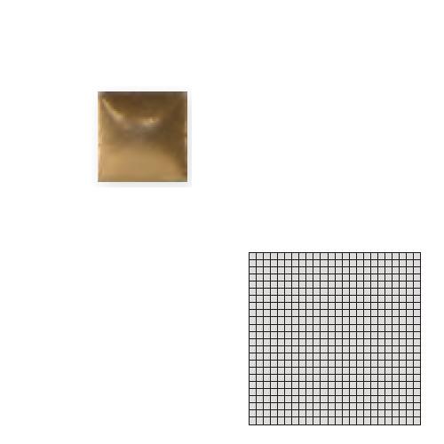 送料無料 Tchic タイル建材 屋内床壁用 インテリアタイル モザイクアート10mm 10角 単色 10-E20
