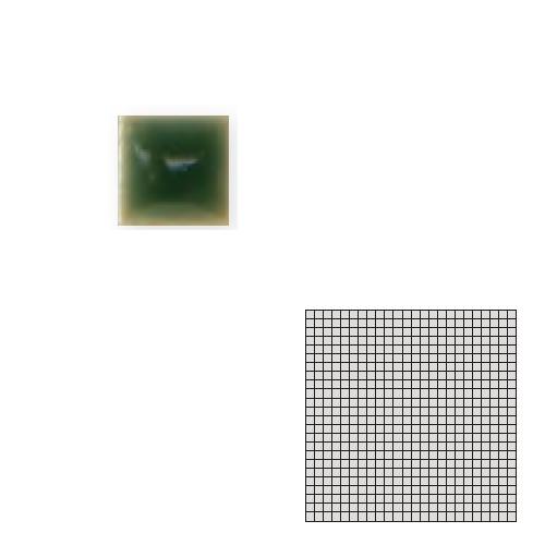 送料無料 Tchic タイル建材 屋内床壁用 インテリアタイル モザイクアート10mm 10角 単色 10-A22