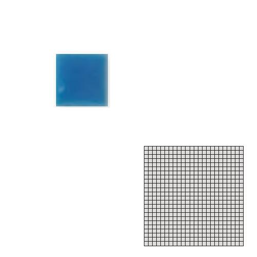送料無料 TChic SWAN TILE タイル建材 屋内床壁用 インテリアタイル モザイクアート10mm 10角 単色 10-D30