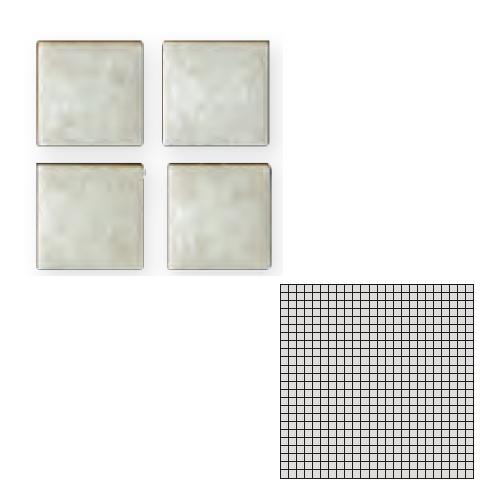 TChic モザイクアート10mm 10角 単色 10-50 送料無料 TILE インテリアタイル SWAN 屋内床壁用 タイル建材 激安特価品 お値打ち価格で