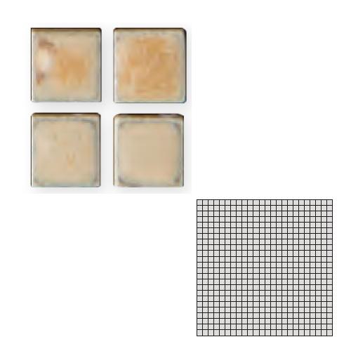 送料無料 TChic SWAN TILE タイル建材 屋内床壁用 インテリアタイル モザイクアート10mm 10角 単色 10-52