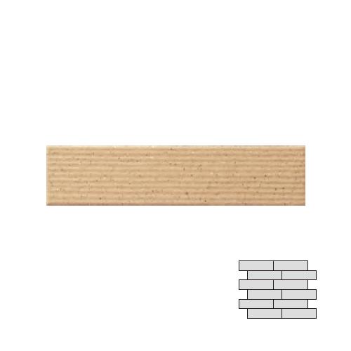 送料無料 TChic SWAN TILE タイル建材 屋内壁・屋外壁用 エクステリアタイル イノセントボーダー 50四丁平1/4レンガ張り IN-45