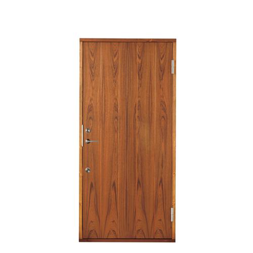 防火ドア 木製玄関ドア 断熱玄関ドア 断熱性 気密性 耐風性 遮音性 passiv material PM-TC-771-TF チーク