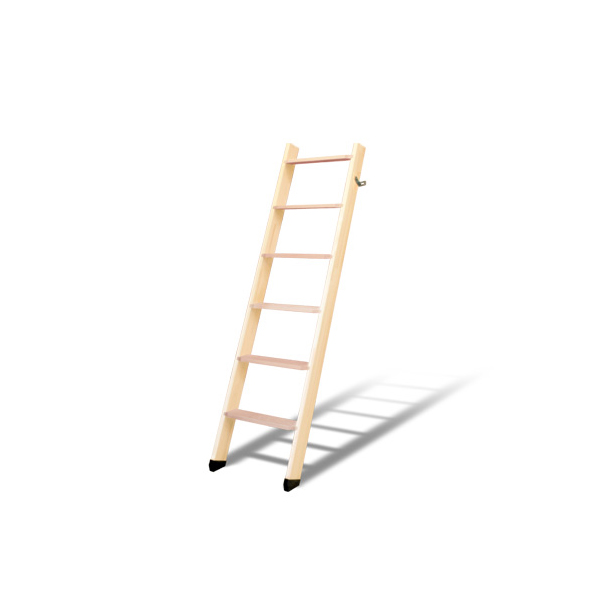 DOLLE ドーレ ロフトはしご 北欧ラダー 軽量木製ロフトはしご 6段 木製はしご 側板 パイン 踏み板 ビーチ 組み立て デンマーク ヨーロッパ 梯子 ハシゴ