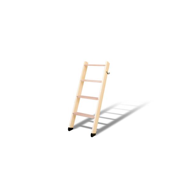 DOLLE ロフトはしご 北欧ラダー 軽量木製ロフトはしご ストア 4段 ドーレ 木製はしご 側板 ビーチ パイン 組み立て 梯子 35%OFF ハシゴ 踏み板 デンマーク ヨーロッパ