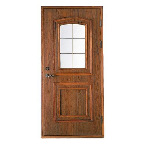 木製玄関ドア 断熱玄関ドア 断熱性 気密性 耐風性 遮音性 passiv material PM-Tc-714 チーク