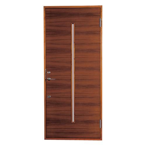 木製玄関ドア 断熱玄関ドア 断熱性 気密性 耐風性 遮音性 passiv material PM-Tc-YBG1N チーク ダブルロック