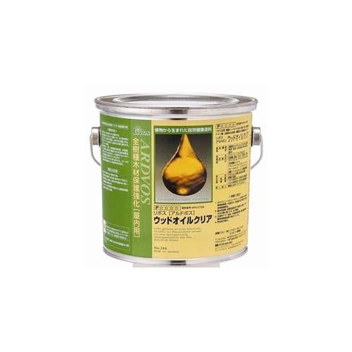 LIVOS リボス 木材用オイル自然塗料 アルドボス No.266 2.5L缶 DIY 送料無料