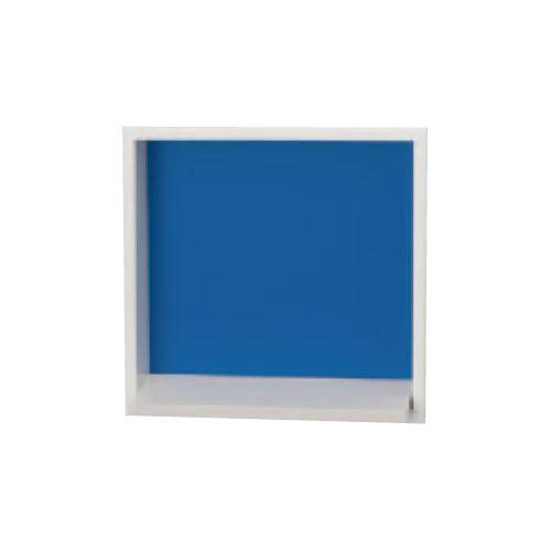 ウォールイン飾り棚 ニッチマイハート スクエアタイプ48シリーズ 正方形 PFNS433 D48×W300×H300 埋め込み 収納 ニッチ 飾り棚 壁面 掘り込み DIY インテリア