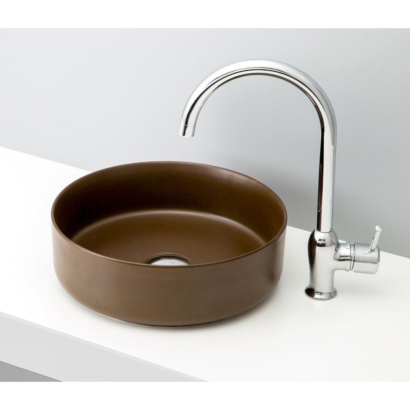 mizunohana 置き型洗面ボウル MATTE マット03 B173 手洗い器 デザイン 陶磁器 ガラス インテリア 水まわり おしゃれ かわいい シンプル モダン カラフル