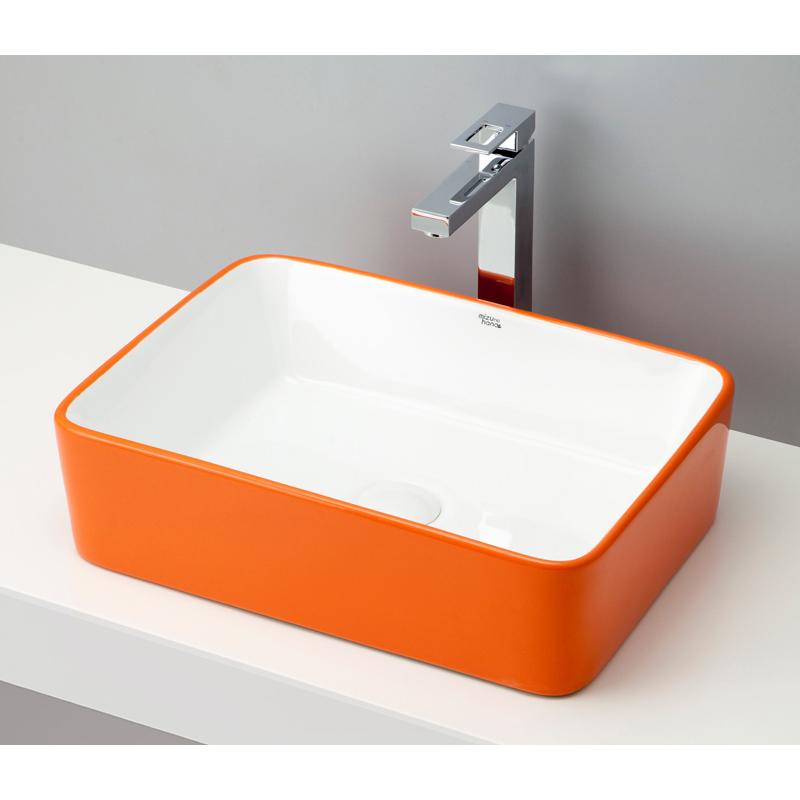 【要在庫確認】mizunohana 置き型洗面ボウル COLORFUL カラフル05 B079 手洗い器 特価 アウトレット