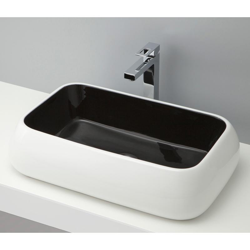 mizunohana 置き型洗面ボウル COLORFUL カラフル07 B081 手洗い器 デザイン 陶磁器 ガラス インテリア 水まわり おしゃれ かわいい シンプル モダン カラフル