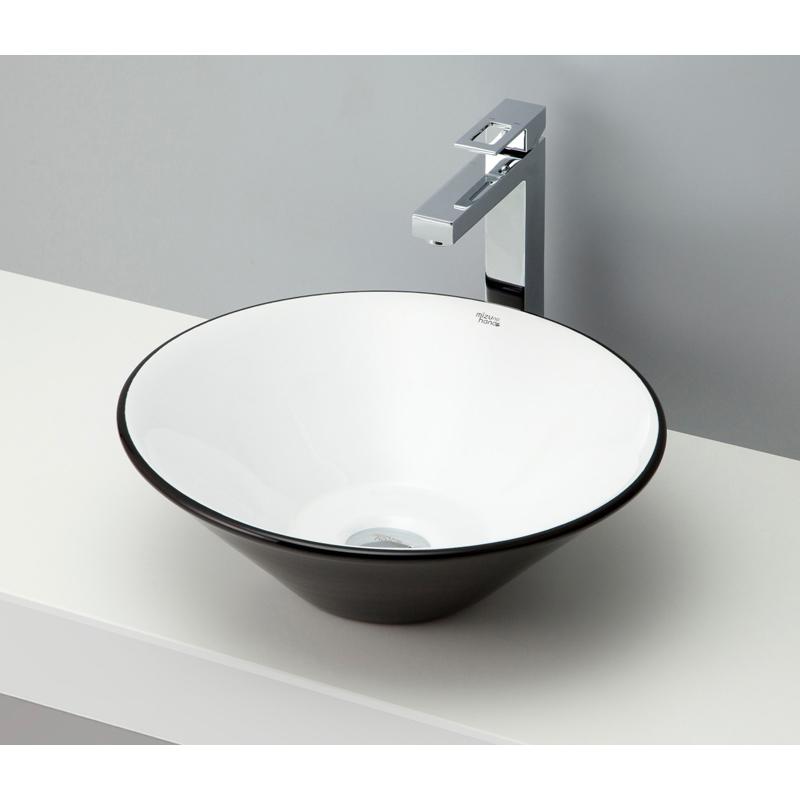 mizunohana 置き型洗面ボウル COLORFUL カラフル17 B102 手洗い器 デザイン 陶磁器 ガラス インテリア 水まわり おしゃれ かわいい シンプル モダン カラフル