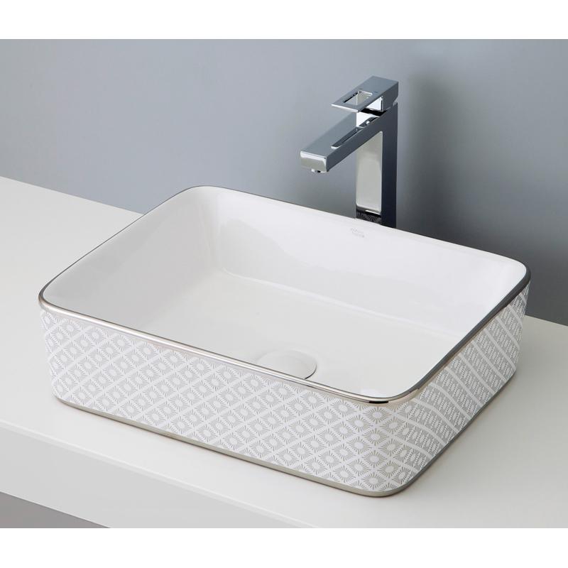 mizunohana 置き型洗面ボウル ELEGANT WHITE エレガントホワイト03 B024 手洗い器 デザイン 陶磁器 ガラス おしゃれ かわいい シンプル モダン カラフル