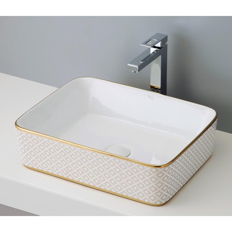 mizunohana 置き型洗面ボウル ELEGANT WHITE エレガントホワイト04 B025 手洗い器 デザイン 陶磁器 ガラス おしゃれ かわいい シンプル モダン カラフル