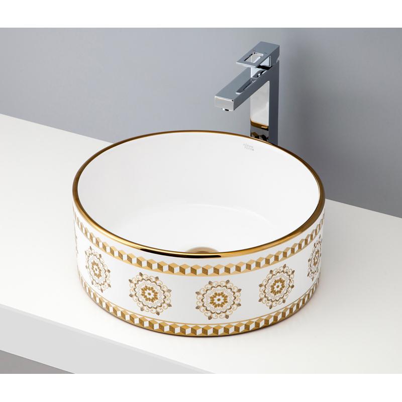 mizunohana 置き型洗面ボウル ELEGANT WHITE エレガントホワイト09 B030 手洗い器 デザイン 陶磁器 ガラス おしゃれ かわいい シンプル モダン カラフル