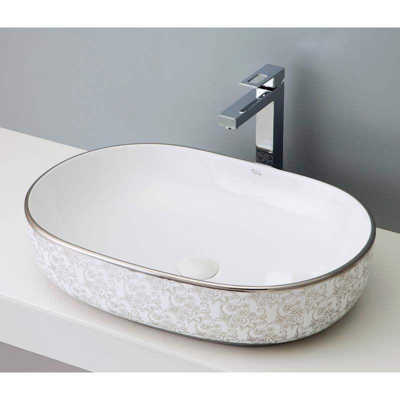 mizunohana 置き型洗面ボウル ELEGANT WHITE エレガントホワイト21 B042 手洗い器 デザイン 陶磁器 ガラス おしゃれ かわいい シンプル モダン カラフル