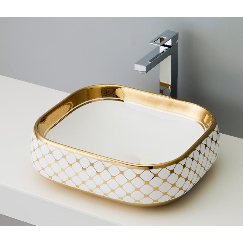 mizunohana 置き型洗面ボウル ELEGANT WHITE エレガントホワイト30 B052 手洗い器 デザイン 陶磁器 ガラス おしゃれ かわいい シンプル モダン カラフル