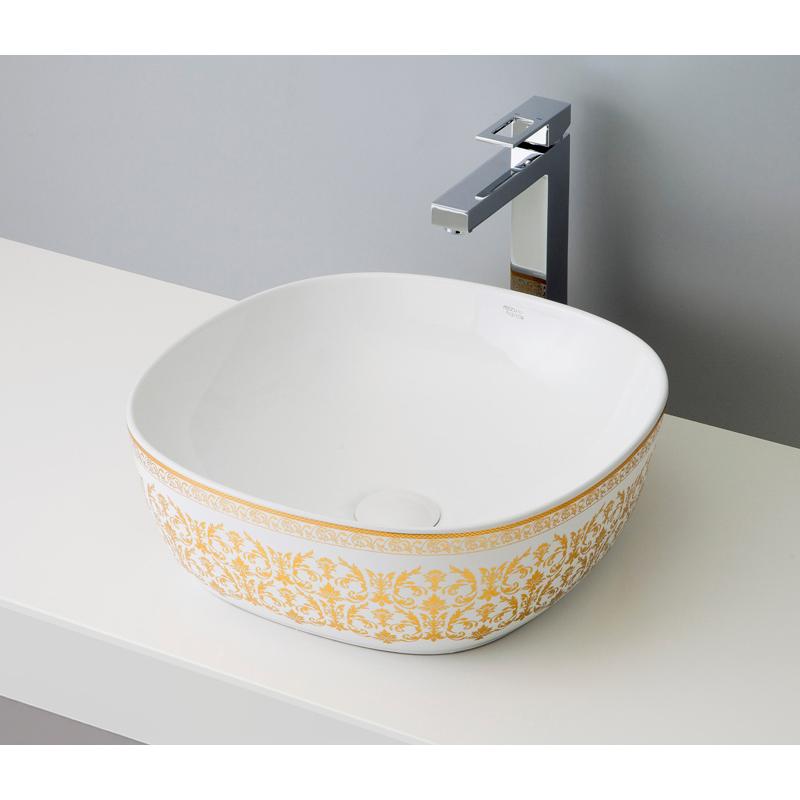 mizunohana 置き型洗面ボウル ELEGANT WHITE エレガントホワイト36 B060 手洗い器 デザイン 陶磁器 ガラス おしゃれ かわいい シンプル モダン カラフル