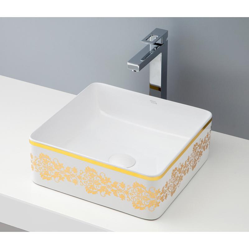 mizunohana 置き型洗面ボウル ELEGANT WHITE エレガントホワイト38 B062 手洗い器 デザイン 陶磁器 ガラス おしゃれ かわいい シンプル モダン カラフル