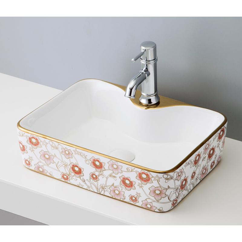 流行 B035 WHITE デザイン おしゃれ モダン mizunohana 手洗い器 置き型洗面ボウル シンプル かわいい カラフル:OK-DEPOT ガラス 陶磁器 ELEGANT エレガントホワイト14-木材・建築資材・設備