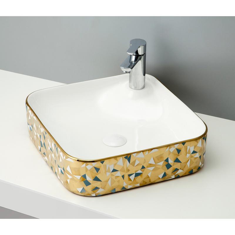 mizunohana 置き型洗面ボウル ELEGANT WHITE エレガントホワイト17 B116 手洗い器 デザイン 陶磁器 ガラス おしゃれ かわいい シンプル モダン カラフル