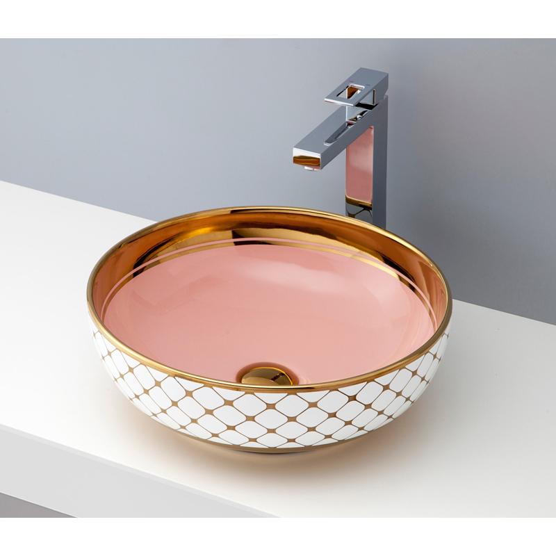 mizunohana 置き型洗面ボウル ELEGANT COLOR エレガントカラー02 B057 手洗い器 デザイン 陶磁器 ガラス おしゃれ かわいい シンプル モダン カラフル