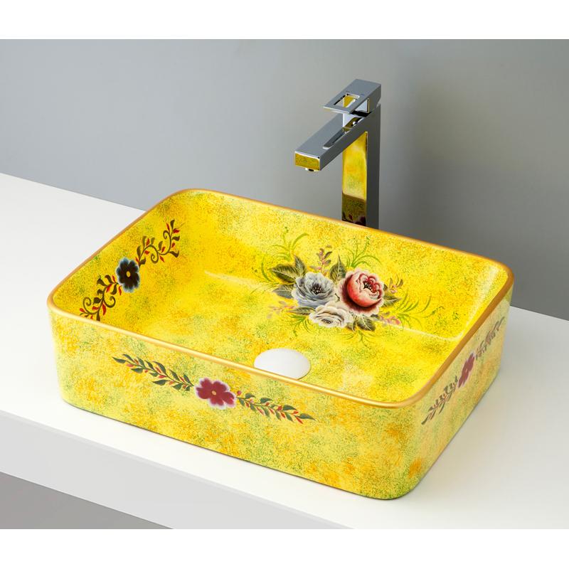 mizunohana 置き型洗面ボウル FLOWER フラワー05 B076 手洗い器 デザイン 陶磁器 ガラス インテリア 水まわり おしゃれ かわいい シンプル モダン カラフル