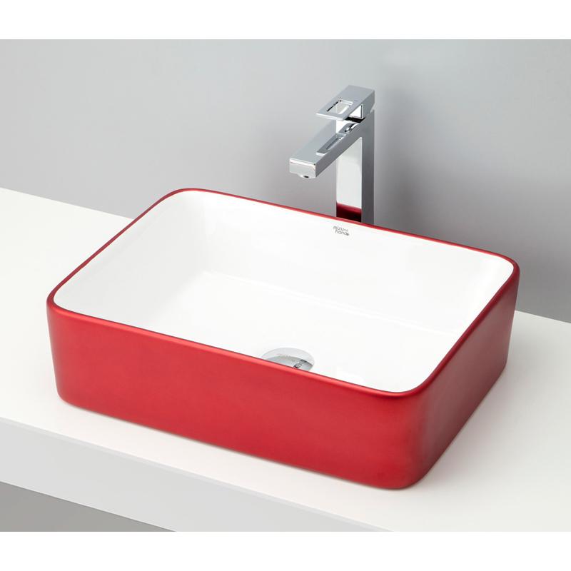 mizunohana 置き型洗面ボウル METALLIC メタリック04 B099 手洗い器 デザイン 陶磁器 ガラス インテリア 水まわり おしゃれ かわいい シンプル モダン カラフル