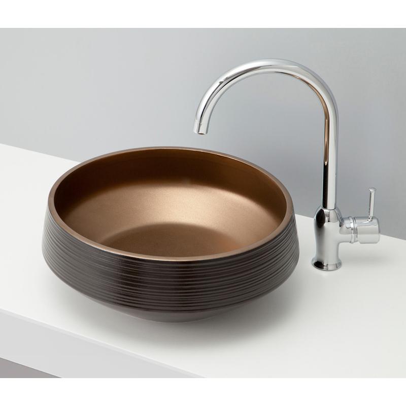 mizunohana 置き型洗面ボウル WA 和05 B096 手洗い器 デザイン 陶磁器 ガラス インテリア 水まわり おしゃれ かわいい シンプル モダン カラフル