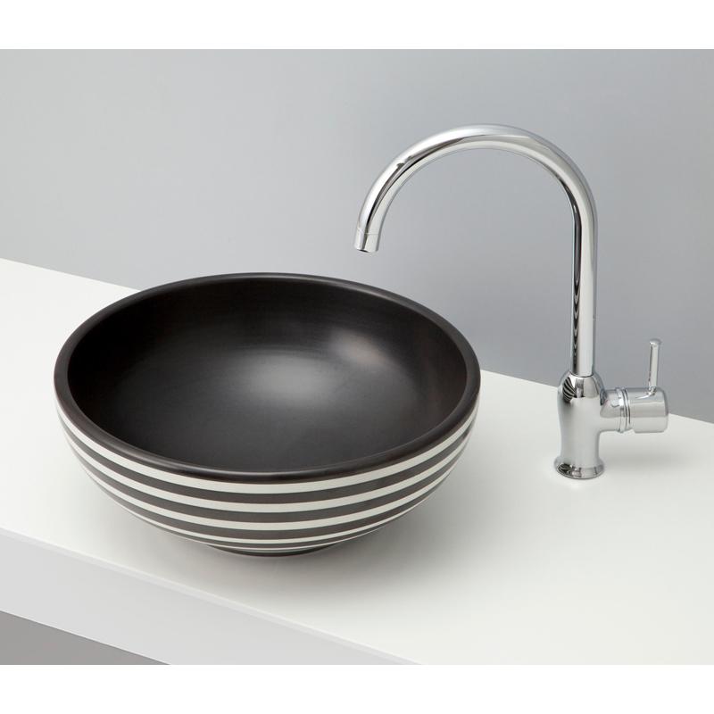 mizunohana 置き型洗面ボウル WA 和11 B117 手洗い器 デザイン 陶磁器 ガラス インテリア 水まわり おしゃれ かわいい シンプル モダン カラフル