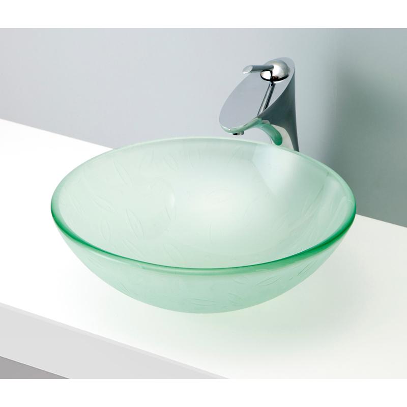 【保存版】 置き型洗面ボウル かわいい CLEAR 陶磁器 おしゃれ ガラス デザイン B122 GLASS 手洗い器 クリアガラス04 mizunohana モダン カラフル:OK-DEPOT シンプル インテリア-木材・建築資材・設備