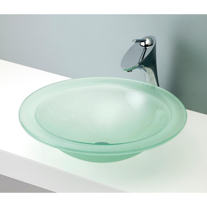 mizunohana 置き型洗面ボウル CLEAR GLASS クリアガラス06 B124 手洗い器 デザイン 陶磁器 ガラス インテリア おしゃれ かわいい シンプル モダン カラフル