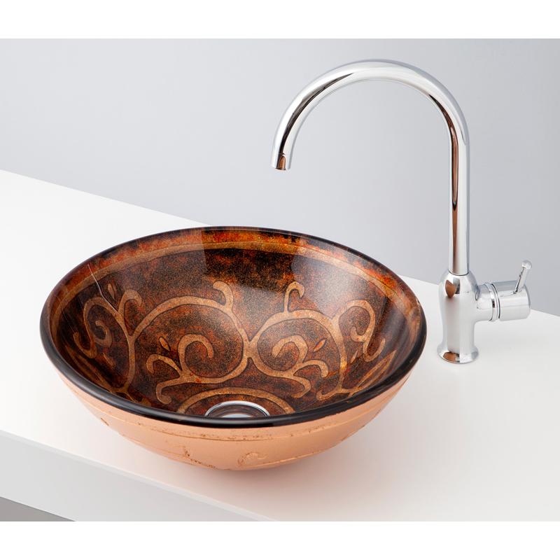 mizunohana 置き型洗面ボウル COLOR GLASS カラーガラス11 B169 手洗い器 デザイン 陶磁器 ガラス インテリア おしゃれ かわいい シンプル モダン カラフル