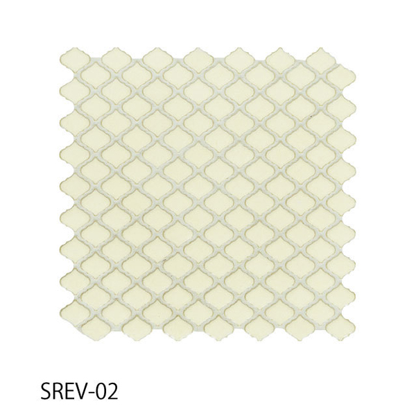 送料無料 TChic SWAN TILE タイル建材 屋内壁用 インテリアタイル コレベリ 31×28平紙張り SREV-02 ケース/22シート