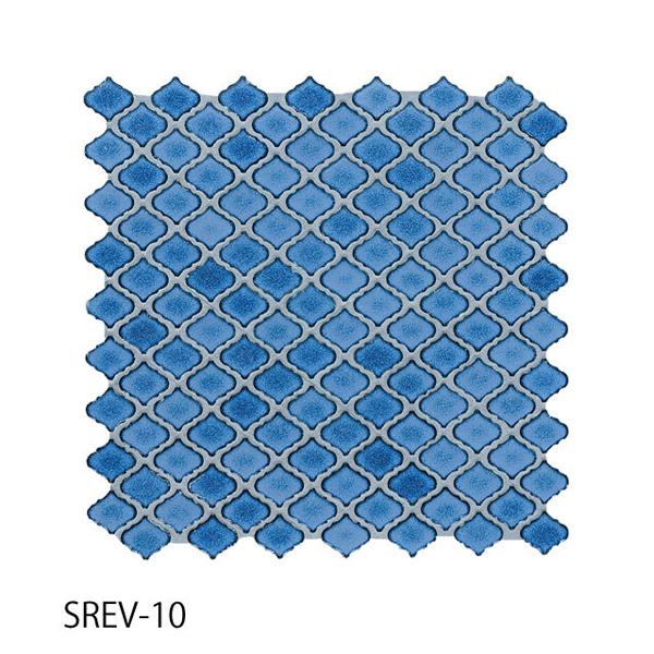 送料無料 TChic SWAN TILE タイル建材 屋内壁用 インテリアタイル コレベリ 31×28平紙張り SREV-10 ケース/22シート