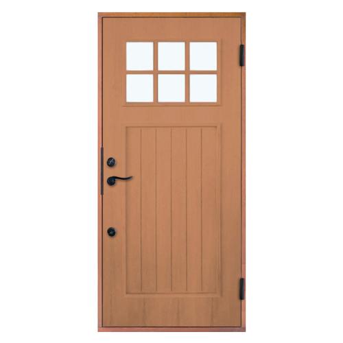 木製玄関ドア 断熱玄関ドア 断熱性 気密性 耐風性 遮音性 passiv material PM-Tc-745 チーク ダブルロック