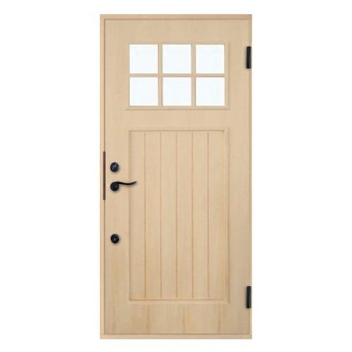 木製玄関ドア 断熱玄関ドア 断熱性 気密性 耐風性 遮音性 passiv material PM-Tc-845 パイン ダブルロック