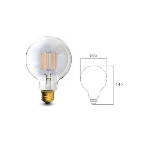 照明器具 LED電球 Only one Siphon サイフォン Ball95 ボール95 LDF31A 2個セット 送料無料