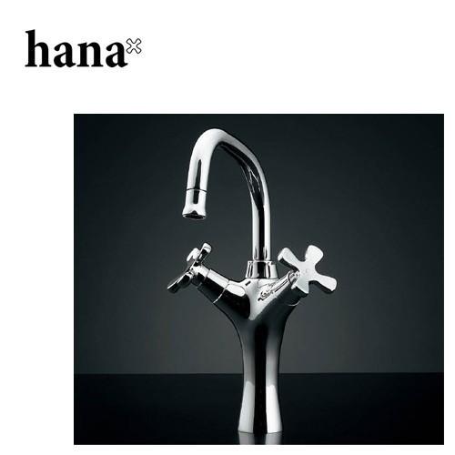 水栓金具 KAKUDAI(カクダイ) hana 2ハンドル混合栓トール 150-416