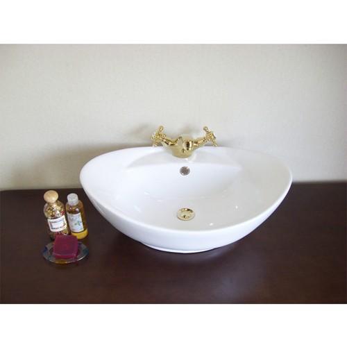 輸入洗面ボウル 卓上タイプ HTS Collection B-125 洗面化粧台 送料無料 個性的 デザイン性