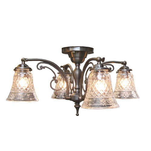 要在庫確認/照明器具 屋内照明 Sunyow(サンヨウ) シャンデリア シーリングランプ 天井直付け型 CP1204A 006