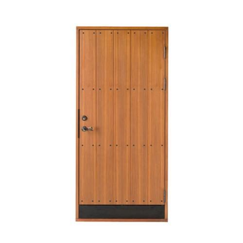 木製玄関ドア 断熱玄関ドア 断熱性 気密性 耐風性 遮音性 passiv material PM-Tc-771 チーク オプション付き