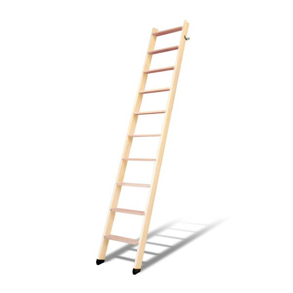 DOLLE ドーレ ロフトはしご 北欧ラダー 軽量木製ロフトはしご 10段 木製はしご 側板 パイン 踏み板 ビーチ 組み立て デンマーク ヨーロッパ 梯子 ハシゴ