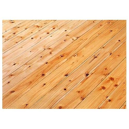 床材 防音フローリング材(直貼り) LL-45相当 めちゃ静か 杉(スギ) 生節 無塗装 910×90×16(9+7)mm